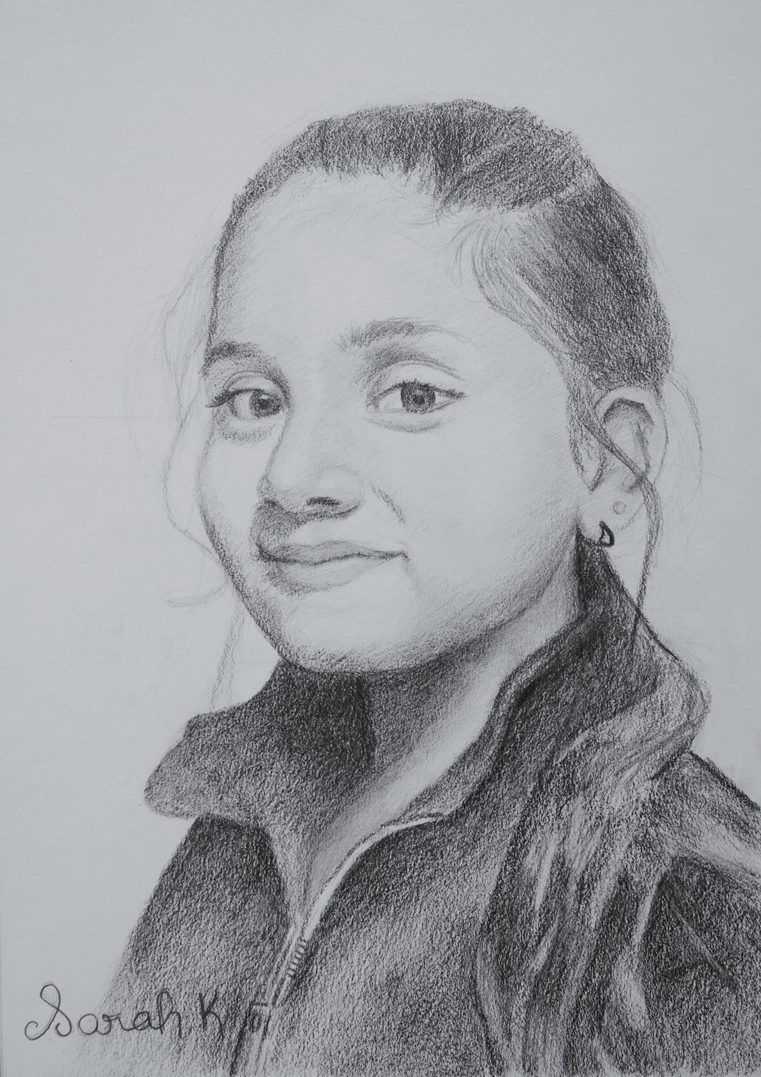 auto-portrait-graphite